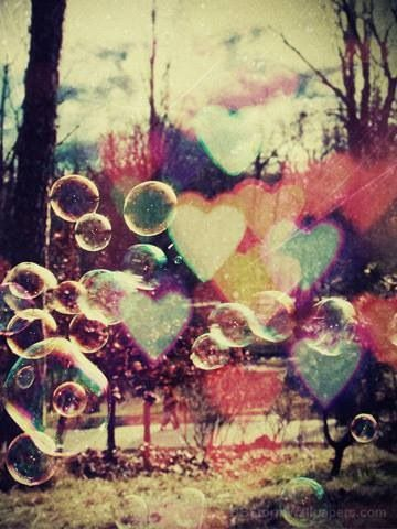 Bubbles & Hearts