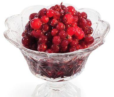 Recept: Rårörda tranbär