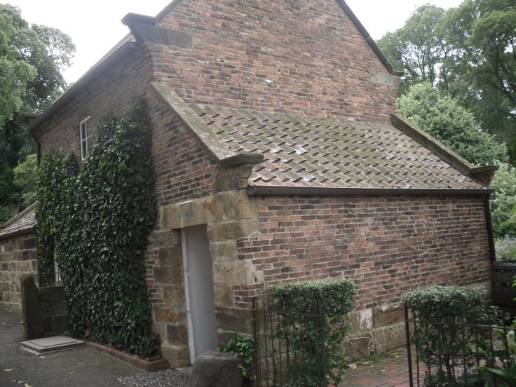 Captain Cook's cottage at Fitzroy Gardens in Melbourne, Vic.