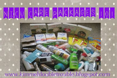NICU Care Packages: How to get started, what to include #preemies #NICU #Carepackagse