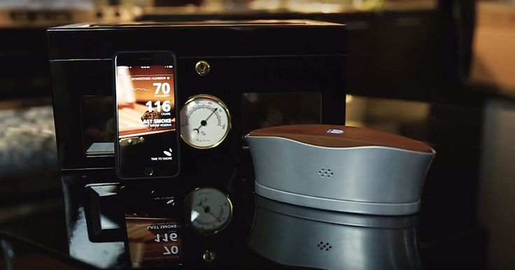 The Blume cigar humidifier keeps tabs on your collection - http://www.sogotechnews.com/2016/11/09/the-blume-cigar-humidifier-keeps-tabs-on-your-collection/?utm_source=Pinterest&utm_medium=autoshare&utm_campaign=SOGO+Tech+News