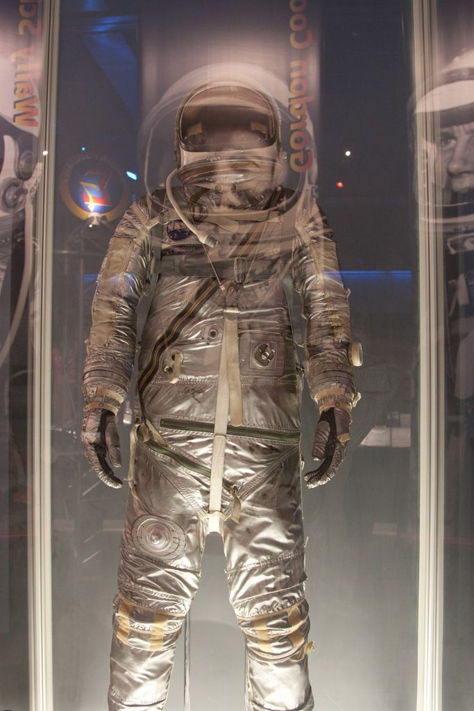 Gus Grissom's flight suit. U.S. Astronaut Hall of Fame, Florida.