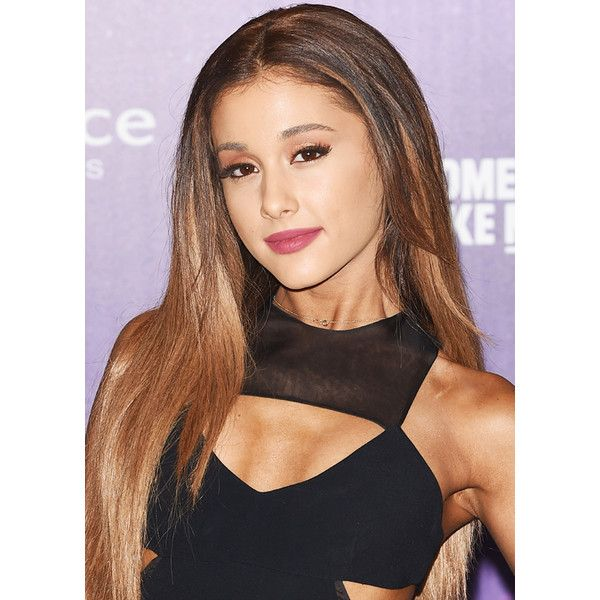 Ariana Grande Lets Her Hair Down at the MTV EMAs ❤ liked on Polyvore featuring hair, ariana and ariana grande