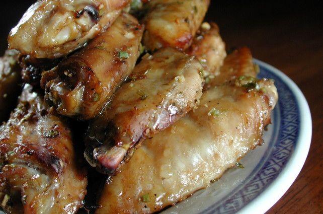 Hoisin-Honey Wings
