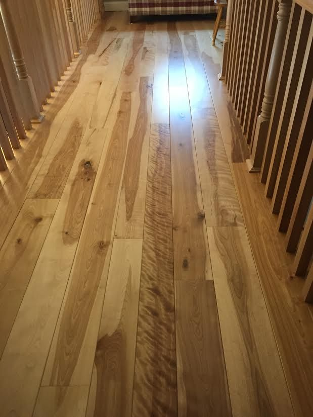Engineered Character Grade Birch Flooring Installed Over Radiant Heat Mill Direct Pricing Vermontplankflooring Birch Floors Wide Plank Birch Hardwood Floors