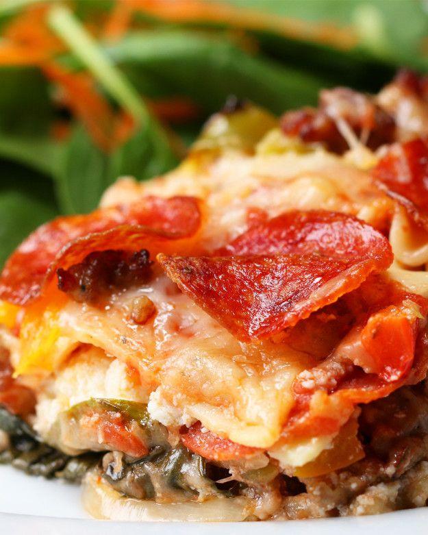 Pizza Lasagna | Pizza Lasagna