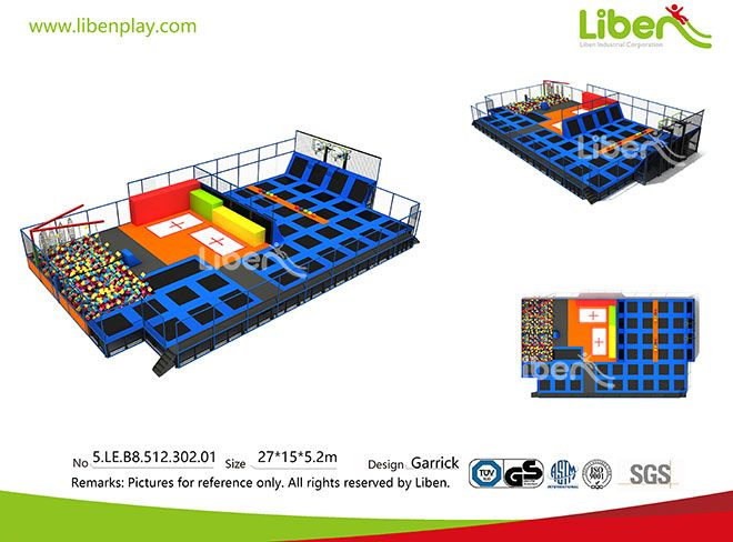 Made in China Professional Trampoline Park Builder