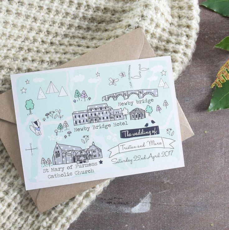 Are you interested in our map wedding invitation? With our illustrated wedding invitation you need look no further.