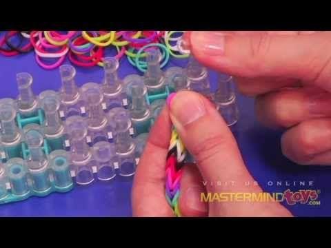 How To: Make the Rainbow Loom Fishtail Bracelet!