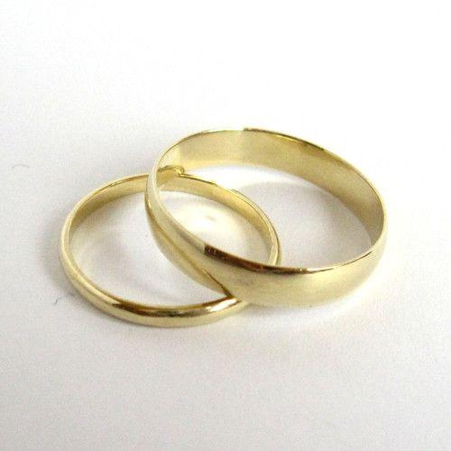 Elegantní a nadčasové snubní prsteny (Au 585/1000)
