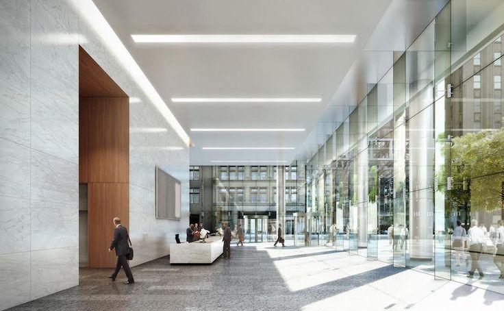 Lyric centre for Office entrance design