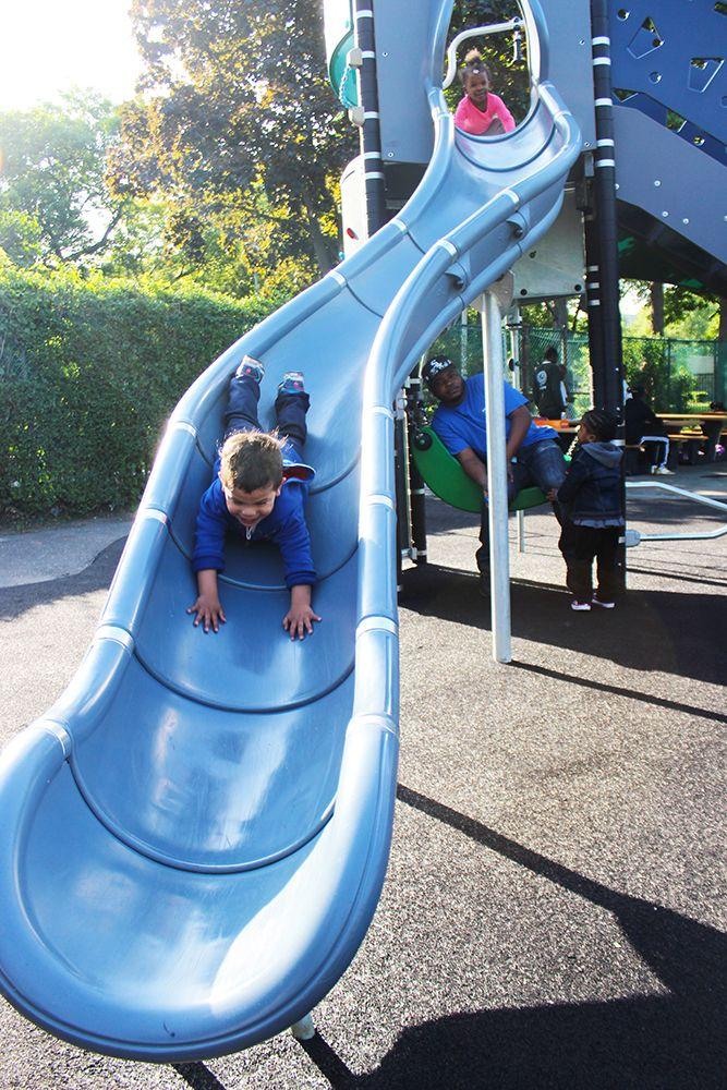 Hartley Park Playground in Mount Vernon, NY www.KOMPAN.com