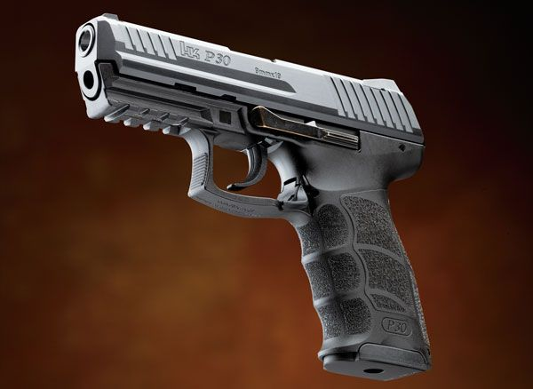 The polymer-frame 9mm wars are heating up once again, and H&K's got a very serious contender in the P30. Check out the H&K P30 review.