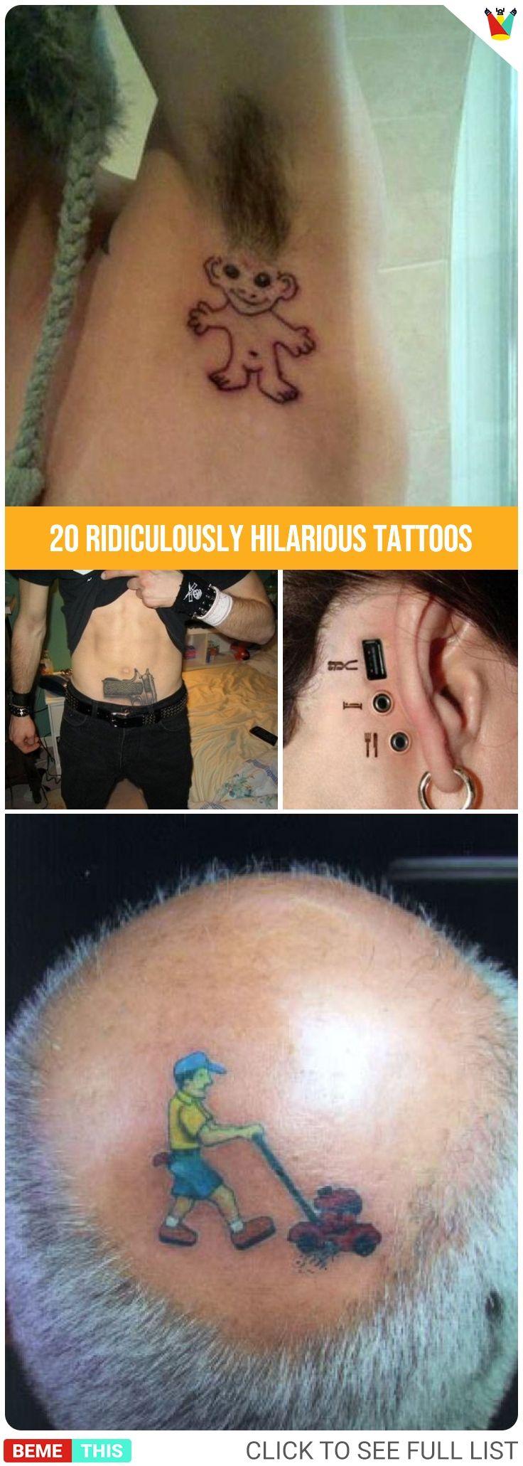 24 Ridiculously Hilarious Tattoos – Daily Pint Of Fun