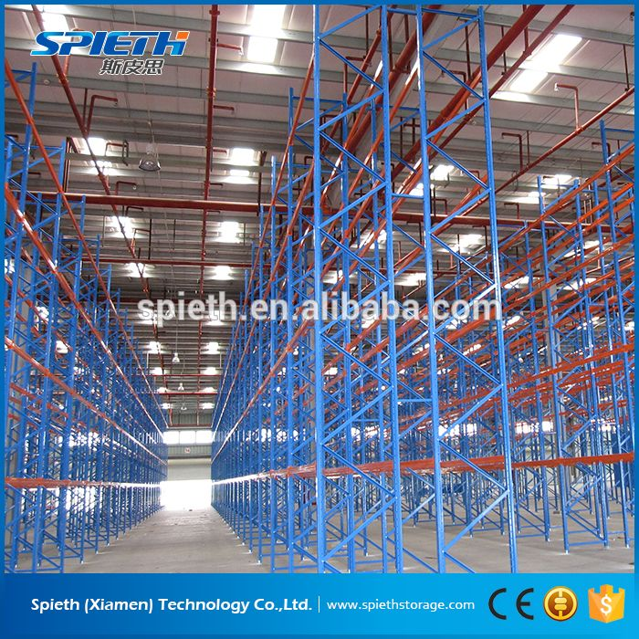 heavy duty beam pallet racking system