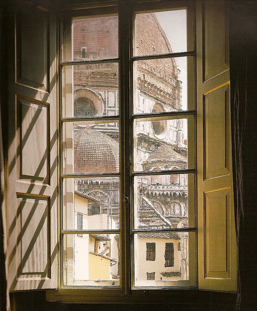 View from a window in Florence