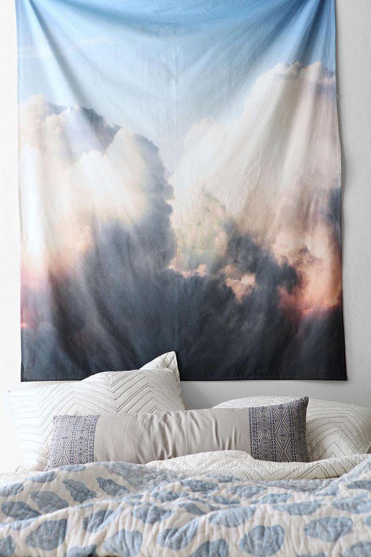Debbie Carlos Clouds Tapestry