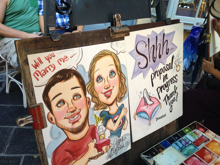 caricature proposal  sneaky
