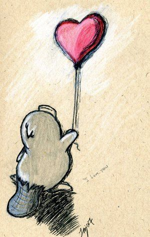 Cute platypus looking for Love <3 im going too draw this