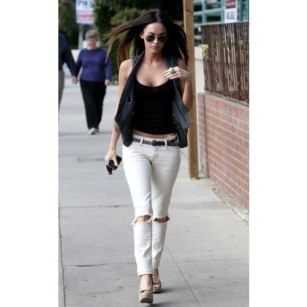 Megan Fox's Style ❤ liked on Polyvore featuring megan fox