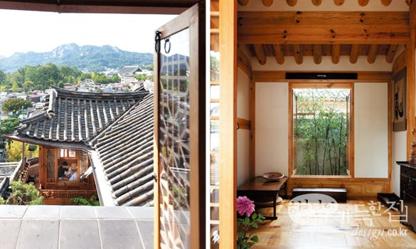 Modern Hanok | Korea- I'd love to live in a house like this