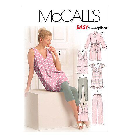 24 besten Pajama Patterns Bilder auf Pinterest   Nachthemd ...