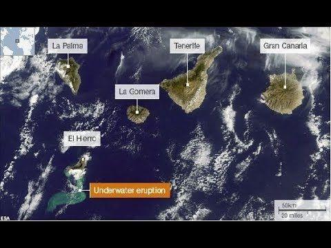 Canary Islands Volcano Alert - Tenerife, La Palma, El Hierro - Grand Solar Minimum Update - YouTube