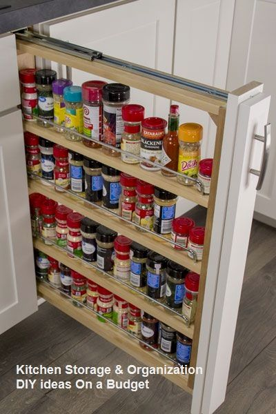 Stylish Spice Storage Ideas For Your Wonderful Kitchen