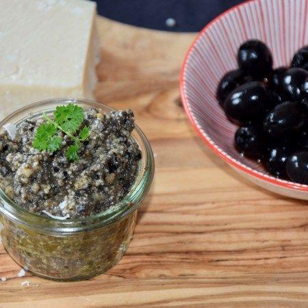 Olivenpesto aus dem Zaubertopf