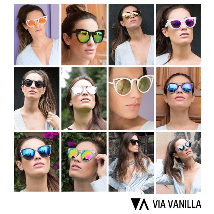 Adquiere Aquí Lentes VIA VANILLA a increíbles precios www.clickonero.com.mx ... Un accesorio es el complemento perfecto para cualquier outfit marcan tu día a día #moda #fashion #guapa #estilo #mujer #casual #ropa #accesorio #lentes #sol #playa #vacaciones