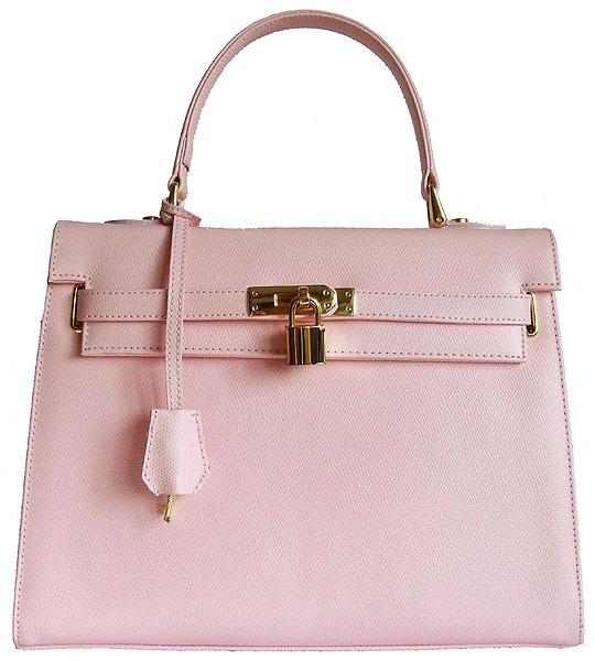 Kensington In Light Pink Italian Leather By Carbotti Or Blue Designer Handbags
