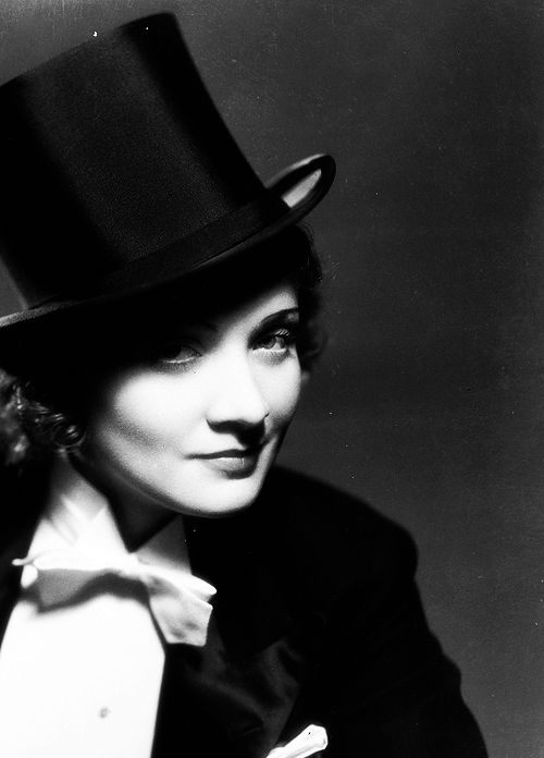 Marlene Dietrich - the one and only.