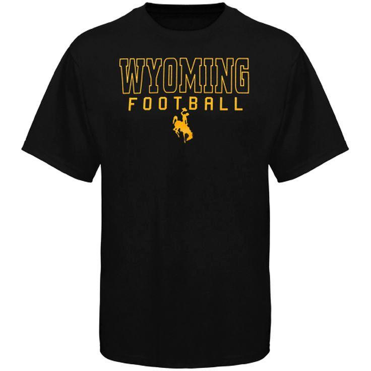 Wyoming Cowboys Frame Football T-Shirt - Brown - $11.99