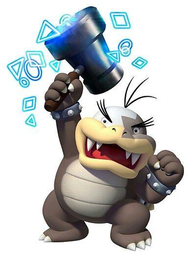 Did you know ?: Morton has be confirmed for the next Paper Mario. (-> See Paper Mario Color Splash - Mario wiki)