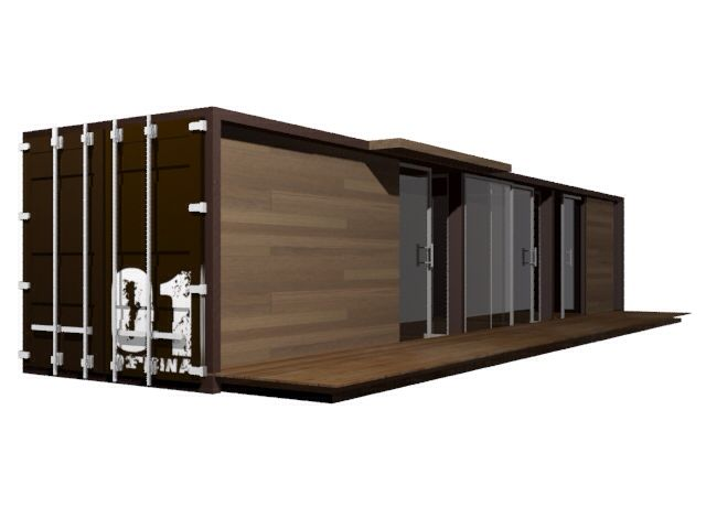 Container office #container #arquitecture #proyect