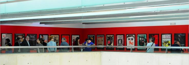 """Exposición de """"Carteles de cine checoslovacos"""""""