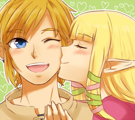 Link & Zelda <3