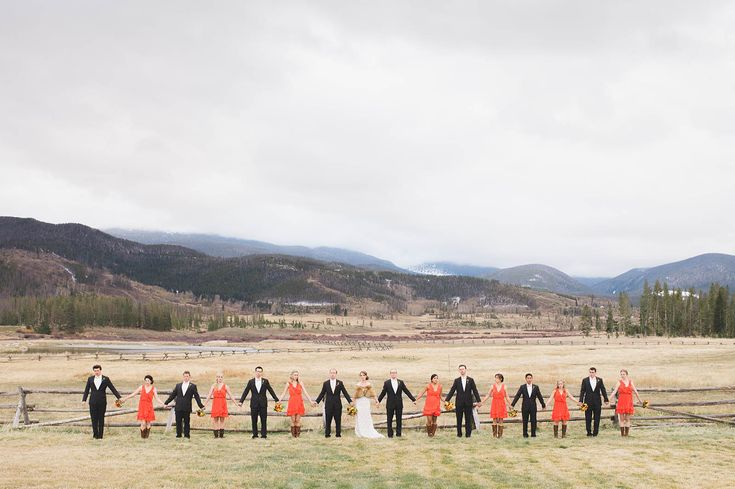 Jac and Heath Photography | Kristy and Phil | bridal party | Colorado wedding | www.jacandheath.com
