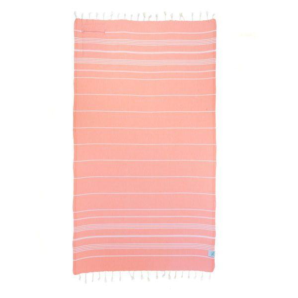 Peach Pocket Towel