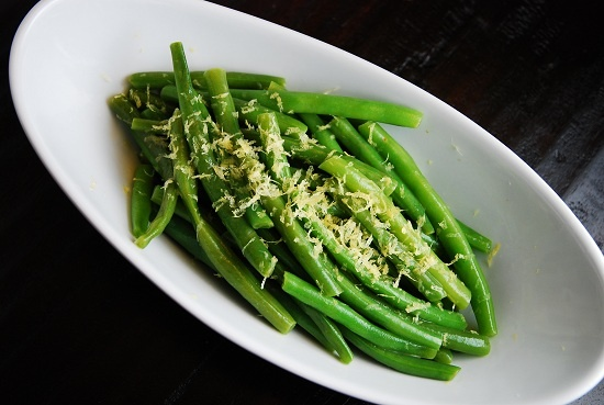 Lemon and Butter Green Beans - 1 Points +