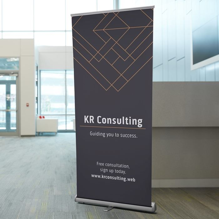 Retractable Banners | ARMA | Retractable banner, Pull up
