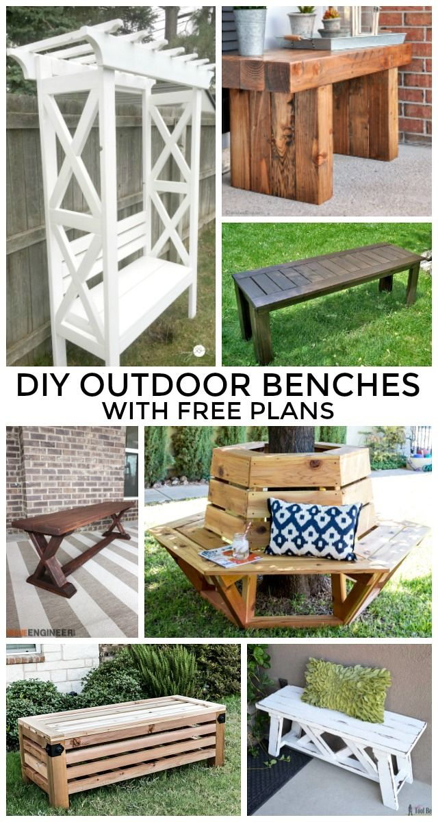 diy outdoor benches free plans 471 best