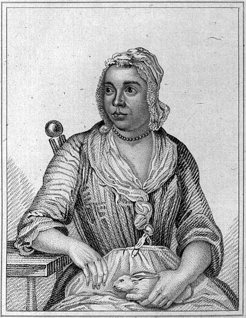She gave birth to a litter of rabbits - In late 1726 much of Britain was caught up in the curious case of Mary Toft, a woman from Surrey who claimed that she had given birth to a litter of rabbits.