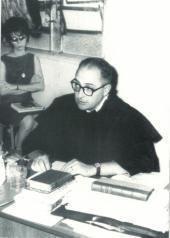 Doutoramento de Jorge de Sena, em Araraquara (São Paulo), 1964