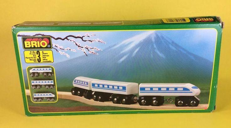 BRIO Shinkansen 33420 Trains of the World Series Japan  Vintage #BRIO
