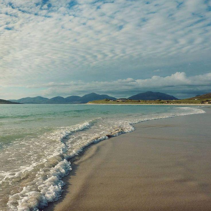 Seilebost Beach near Seilebost, Isle of Harris, Outer Hebrides, Scotland (Gordon Anderson, photographer)