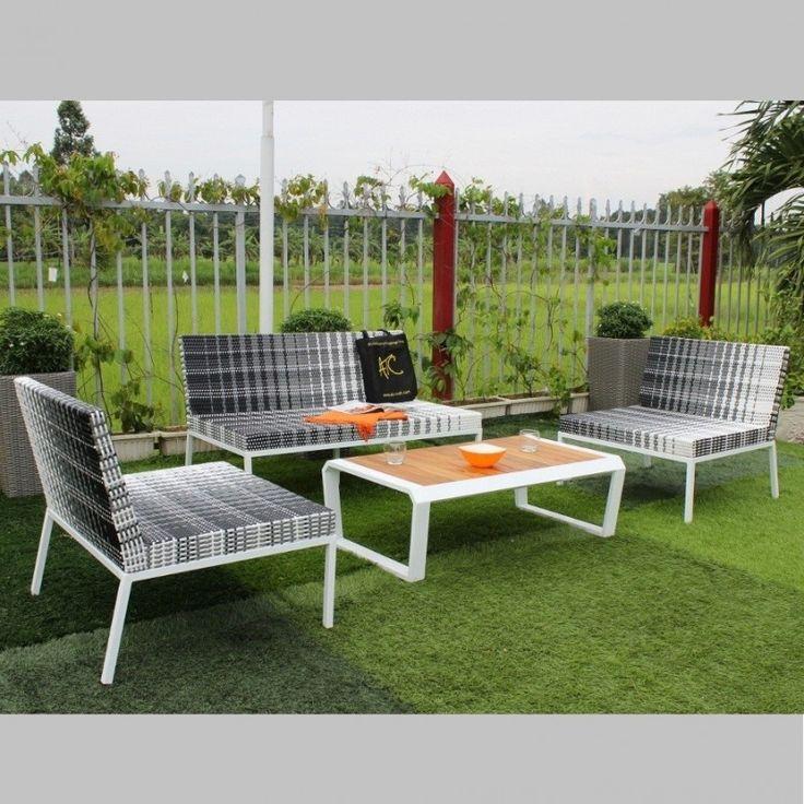 Outdoor Rattan Polyurethane Seating Couches Patio