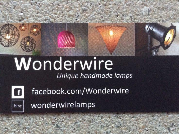 Wonderwire, unique handmade lamps.