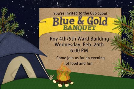 cub scout blue and gold program template -