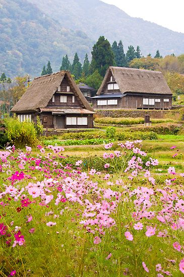 Ainokura village, Toyama, Japan http://www.redbubble.com/people/danielattema/works/2104344-ainokura